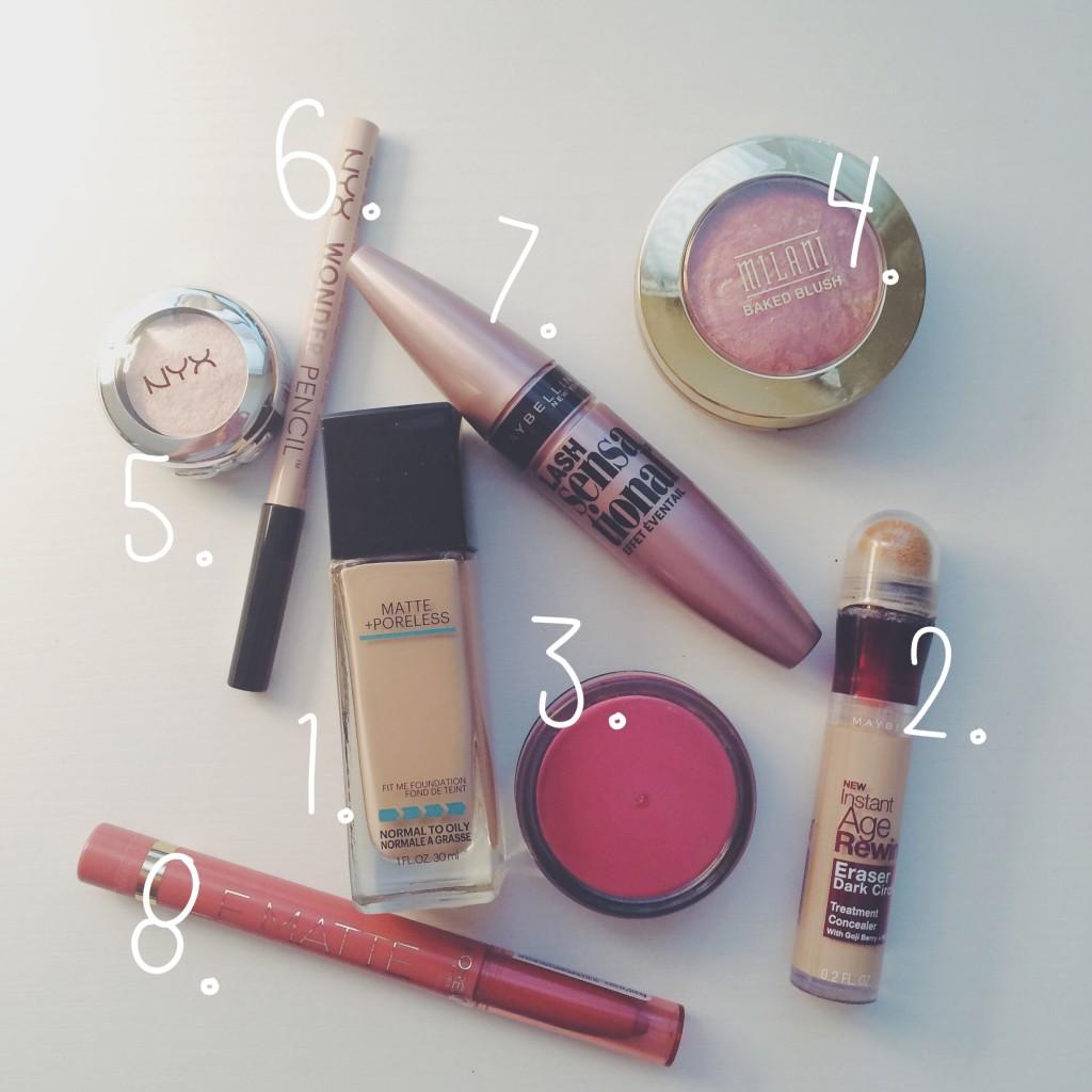drugstore makeup favorites!